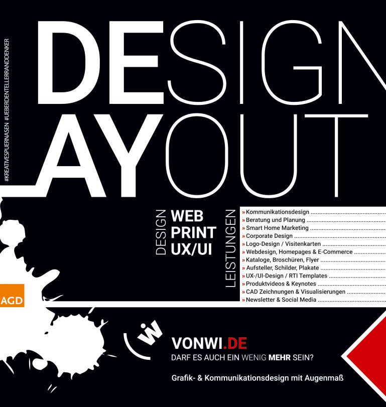 von Wittken - Layout & Design - Flayer (PDF)